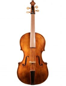 Baroque Viola after Gaspar Borbon for sale at Bridgewood and Neitzert London