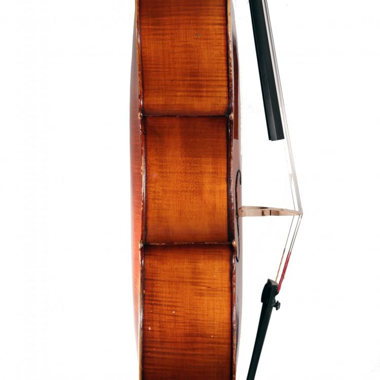 German Cello c.1890 for sale at Bridgewood and Neitzert London