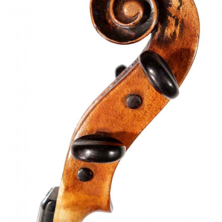 German violin c.1870 Hopf school Markneukirchen for sale at Bridgewood and Neitzert London