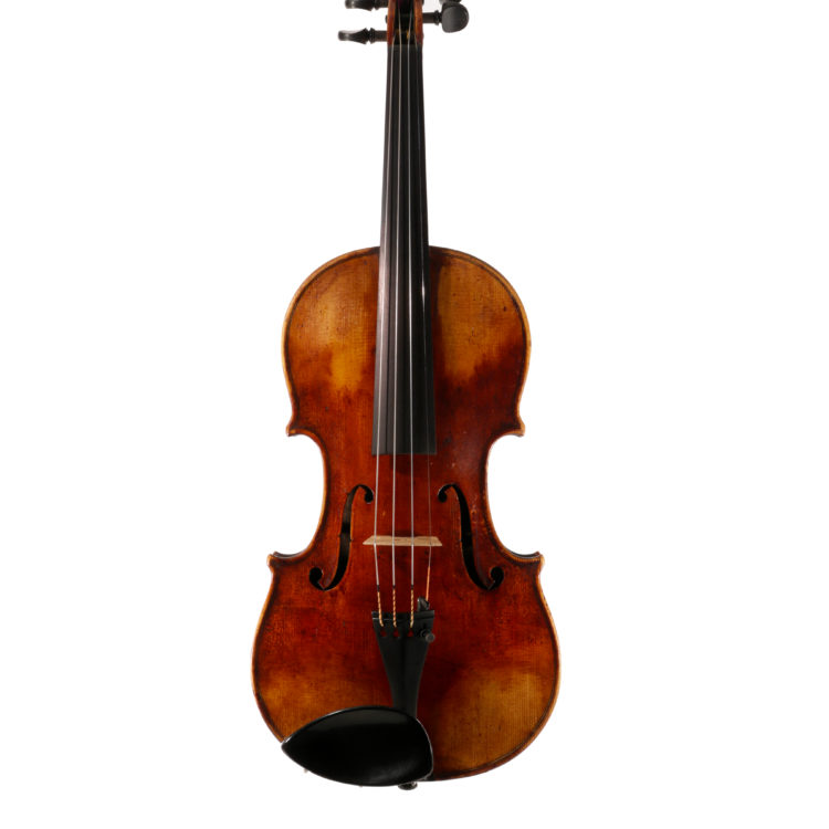 Fine violin by Andrew Sutherland for sale at Bridgewood and Neitzert London