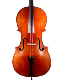 French cello c1880 for sale at Bridgewood and Neitzert London