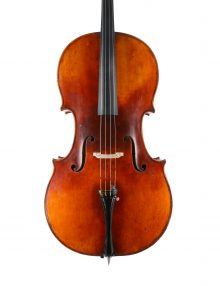 Fine German cello for sale at Bridgewood and Neitzert London