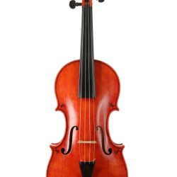 Baroque violin by William Castel for sale at Bridgewood and Neitzert London