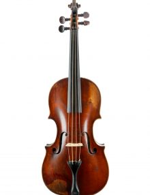 Fine baroque violin by Charles and Samuel Thompson 1775 for sale at Bridgewood and Neitzert London