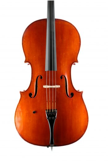 Fine cello by Charles Brugere for sale at Bridgewood and Neitzert London