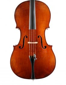 Fine French cello for sale at Bridgewood and Neitzert London