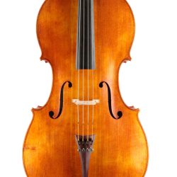 Fine cello by Andrew Woods for sale at Bridgewood and Neitzert London