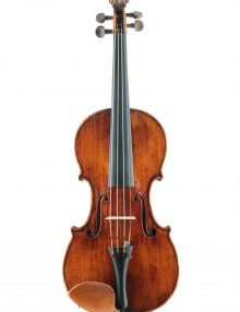 Fine violin by Charles Harris for sale at Bridgewood and Neitzert London