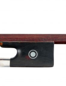 Fine violin bow by Rudolf Riedl for sale at Bridgewood and Neitzert London