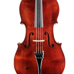 Fine French Thibouville Lamy cello for sale at Bridgewood and Neitzert London