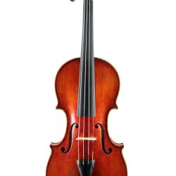 Fine 7/8 violin by Charles Harris for sale at Bridgewood and Neitzert London